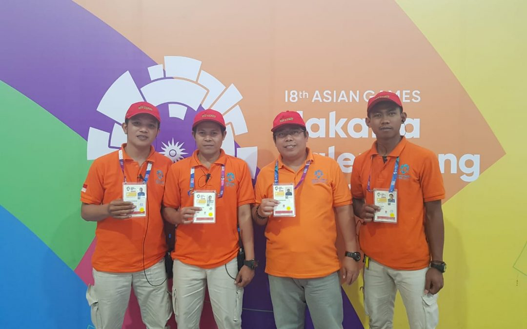 Partisipasi PT. POSTIGA Dalam Gelaran Asian Games 2018