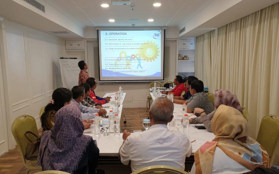 Tingkatkan Kepuasan Pelanggan, Postiga Mengadakan Pelatihan ISO 9001-2015