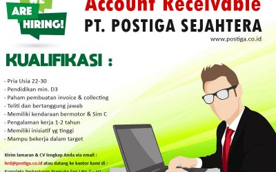 Lowongan Account Receivable (AR)